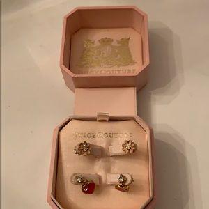 Juicy Couture Kids earrings 2 pair